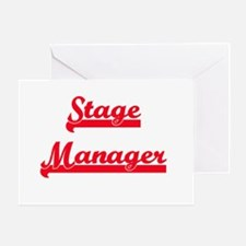 Stage Manager Greeting Card