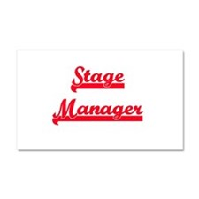 Stage Manager Car Magnet 20 x 12