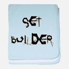 Set Builder baby blanket