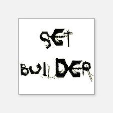 "Set Builder Square Sticker 3"" x 3"""