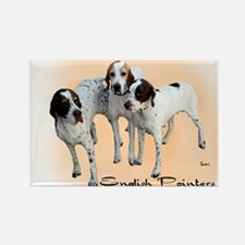 English Pointers Rectangle Magnet