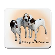English Pointers Mousepad