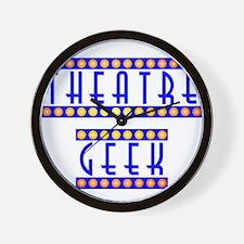 theatregeek2.psd Wall Clock