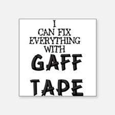 "gaff.psd Square Sticker 3"" x 3"""