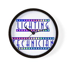 light2.psd Wall Clock
