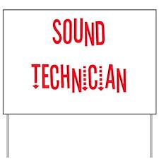 sound.psd Yard Sign