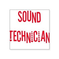 "sound.psd Square Sticker 3"" x 3"""