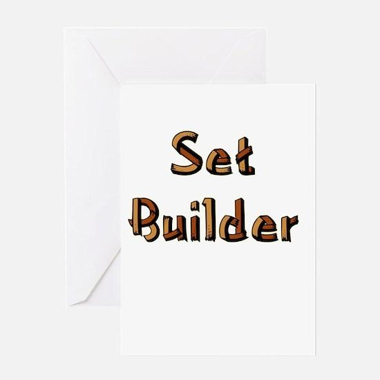 setbuilderblack.psd Greeting Card