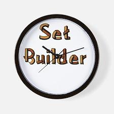 setbuilderblack.psd Wall Clock