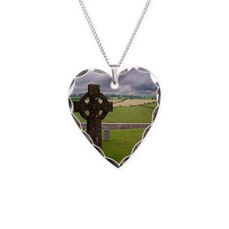 cross1.jpg Necklace Heart Charm