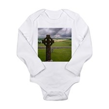 cross1.jpg Long Sleeve Infant Bodysuit