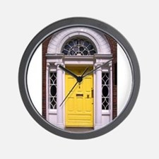 dublinyellow.jpg Wall Clock
