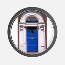 dublinblue.jpg Wall Clock