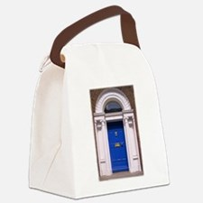 dublinblue.jpg Canvas Lunch Bag
