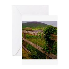 Irish fence.jpg Greeting Card