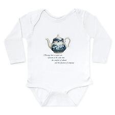 teapot.jpg Long Sleeve Infant Bodysuit