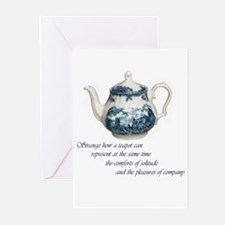 teapot.jpg Greeting Cards (Pk of 20)