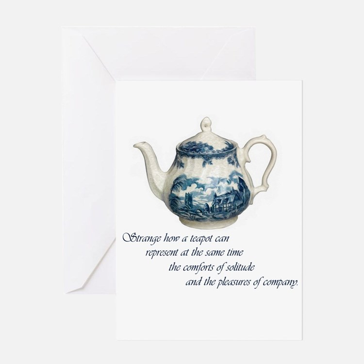 teapot.jpg Greeting Card