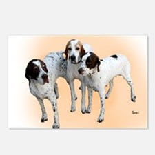 English Pointers Postcards (Package of 8)
