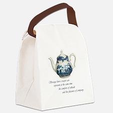 teapot.jpg Canvas Lunch Bag