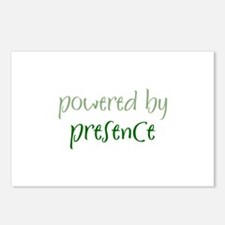 Powered By presence Postcards (Package of 8)