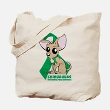 Chihuahuas for Cerebral Palsy Tote Bag