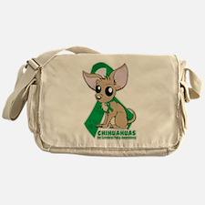 Chihuahuas for Cerebral Palsy Messenger Bag