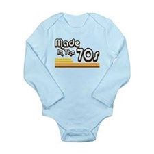 'Made in the 70s' Long Sleeve Infant Bodysuit