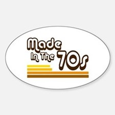 'Made in the 70s' Decal