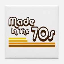 'Made in the 70s' Tile Coaster