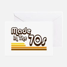 'Made in the 70s' Greeting Card