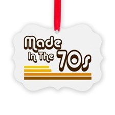 'Made in the 70s' Ornament