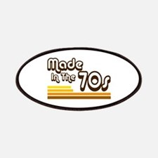 'Made in the 70s' Patches