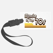 'Made in the 70s' Luggage Tag