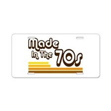 'Made in the 70s' Aluminum License Plate