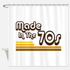'Made in the 70s' Shower Curtain