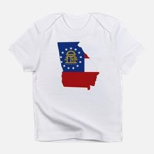 Georgia Flag Infant T-Shirt