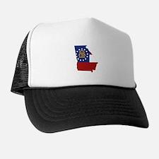 Georgia Flag Trucker Hat