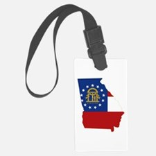 Georgia Flag Luggage Tag