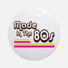 'Made in the 80s' Ornament (Round)