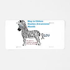 EDS AWARENESS INFO Aluminum License Plate