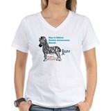 Ehlers danlos awareness Womens V-Neck T-shirts
