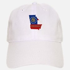 Georgia Flag Baseball Baseball Cap
