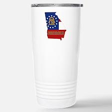 Georgia Flag Travel Mug