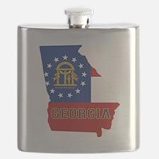 Georgia Flag Flask