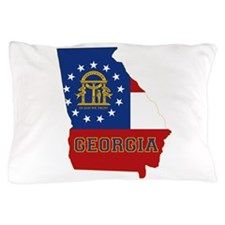 Georgia Flag Pillow Case
