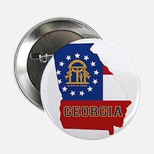 """Georgia Flag 2.25"""" Button"""