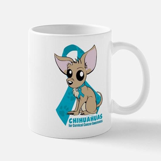 Chihuahuas for Cervical Cancer Mug