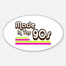 'Made in the 90s' Decal