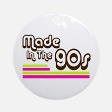 'Made in the 90s' Ornament (Round)